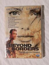 BEYOND BORDERS Amore senza confini Jolie Owen Film Avventura 2003 DVD