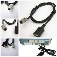 AUX USB Cable Adapter For 2012 Toyota Sequoia Tacoma Tundra Yaris RAV4 CD Player