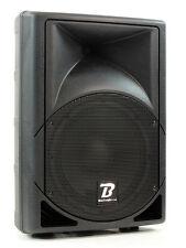 BoomToneDJ MS10A MP3 Aktivbox Lautsprecher mit USB Bluetooth MP3 Player