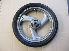 Roue avant avec pneu DUNLOP Arrowmax en bon état pour Yamaha 125 TDR - 4FU - 5AE