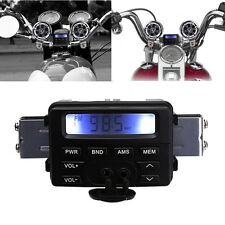 Waterproof Motorcycle Bike Sound Audio FM Radio MP3 Player System Handlebar kit@