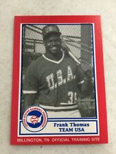 1990 United States Baseball Federation Frank Thomas Rookie RC RARE White Sox