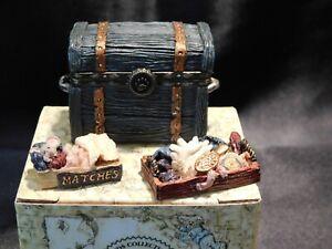 Boyds Bears Treasure Box - ZAZU'S ATTIC TRUNK w/SNOOZY MCNIBBLE - NIB