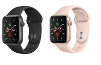 Apple Watch Series 5 40mm GPS + 4G GSM Smart Watch Aluminum Case with Sport Band