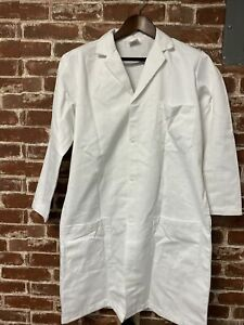 United Men's White Lab Cost Size XS New