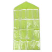 Foldable Mesh Dirty Clothes Washing Laundry Basket Toy Sundry Storage Bag Hanger