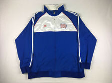 Detroit Pistons adidas Jacket Men's Blue/White Poly Used Size 4XLT