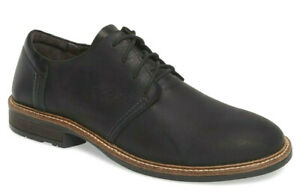NAOT Chief Oily Leather Oxfords Men's Lace Up Shoes Black Size 42, US 9