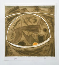 rare GORDON HOUSE (1932-2004) Abstract  ETCHING - proof Can't find anywhere