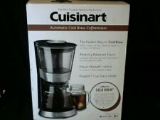 Cuisinart DCB-10 Automatic Cold Brew Coffeemaker, Silver