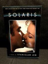 SOLARIS by Stanislaw Lem Paperback Steven Soderbergh Movie Tie-In Book
