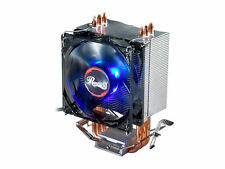 Rosewill Silent 92mm CPU Cooler with Blue LED Lights and PWM, 41CFM ROCC-16003