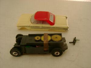 H.O.D. AURORA MODEL MOTORING T-JET SLOT CAR #1352 63 GALAXIE HARD TOP