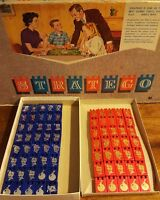 Vintage Stratego Wooden Replacement Game Pieces Milton Bradley 1962