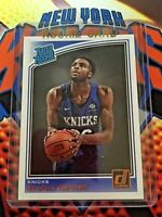 MITCHELL ROBINSON  RC 2018-19 Panini Donruss Rated Rookie #163 NY Knicks QTY
