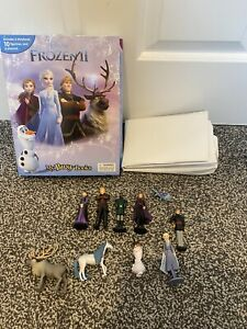Disney FROZEN 2 BUSY BOOK STORY 10 FIGURES Figurines Cake Toppers Complete