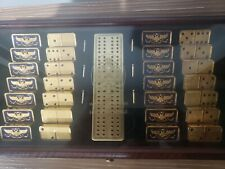 House of Faberge Dominoes 24k gold plated