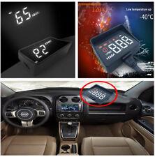 HUD A100S Head Up Display Auto OBD2 Driving Computer Speedmeter Projector Alarm
