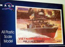 MACH 2 1/72 PBR 31 mk. II Pibber VIETNAM RIVER barca #AR07