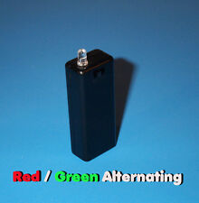 FAKE CAR ALARM LED - RED / GREEN ALTERNATING AAA BATTERY aa