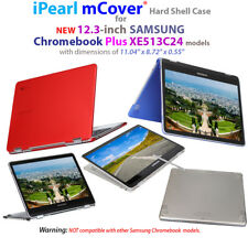 "NEW iPearl mCover® Hard Shell Case for 12.3"" SAMSUNG Chromebook Plus XE513C24"