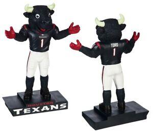 Houston Texans Mascot Statue Toro NFL Whimsical Garden Football