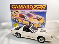 Vintage MPC Model Camaro Z28 BUILT from Kit with Box 1984 1/25 Scale Chevrolet