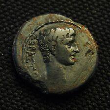 Æ Sardes Lydia Augustus Rv Demoi Pergamon & Sardes 4.93 gram 19-20mm 27 BC-AD 14