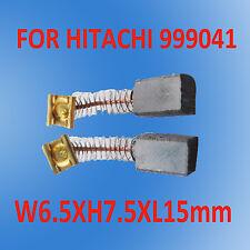 Carbon Brushes For Hitachi FU-20 P-20SA P-20V PH-22V3999041 Drill LSaw UH-7 D-6C