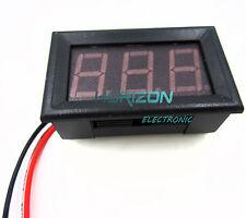 Dc 0V To 99.9V Red Led Panel Meter Mini Digital Voltmeter