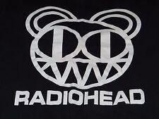 RADIOHEAD/CARIBOU Rare 2012 Concert Tour 2 Sided T-Shirt SZ M w Dates/Bear Logo