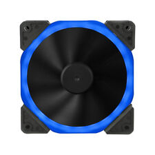 Halo Dual Ring 22 DEL 120 mm 12 cm blue case PC Fan, 22 X DEL's, 22.0db, 32 CFM