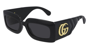 Gucci Sunglasses GG0811S  001 Black gray Woman