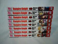 Vampire Knight Shojo Beat Manga by Matsuri Hino books 1 2 3 4 5 6 7 8
