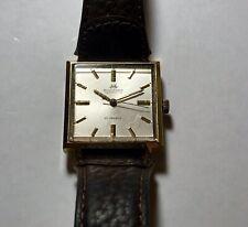 Authentic Vintage Bucherer 21 Jewels Square Automatic Watch