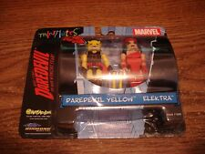 2003 Art Asylum Marvel Minimates Daredevil Yellow & Elektra set MIP NEW
