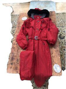 Skila Vintage Ladies Ski Suit
