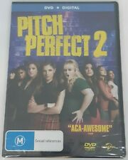 PITCH PERFECT 2 DVD, NEW & SEALED, REGION 4, 2014