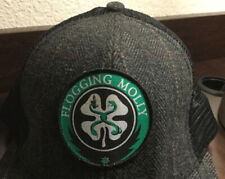 Flogging Molly Irish/Celtic Punk Band Four Leaf Clover Baseball Cap Hat Rare