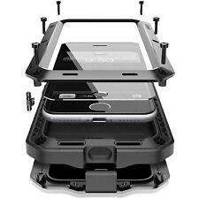 Para Apple IPHONE 7 8 XR XS Antichoque Pesado Resistente Completo Metal Funda GB