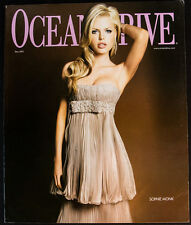 SOPHIE MONK COVER Ocean Drive Magazine May 2007 South Beach! Iggy Pop! Shaq!