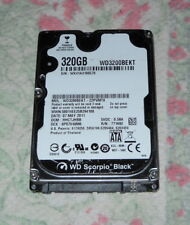 "HARD DISK 320 GB WESTERN DIGITAL WD SCORPIO BLACK SATA 2.5"" WD3200BEKT-22PVMT0"