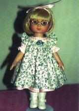 "Pattern fits10"" Dolls Bleuette Patsy Ann Estelle Linda McCall Dianna Effner"