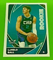 LaMELO BALL 2020-21 PANINI NBA Sticker & Card Collection ROOKIE RC #155 MINT