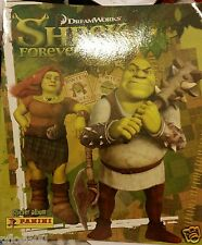 DREAMWORKS SHREK 4 FOREVER AFTER STICKER ALBUM & ALL STICKERS TO COMPLETE ALBUM