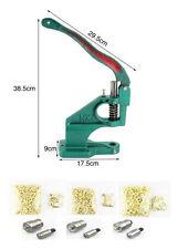 Ösenpresse Ösenmaschine Werkzeuge mit 6mm 8mm 10mm Ösen Stanze