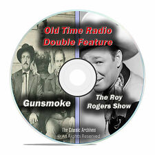 Gunsmoke + Roy Rogers, ALL 603 KNOWN Shows, Western Old Time Radio, OTR, DVD F63