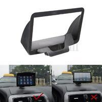 Universal Anti Glare Screen Sun Shield Visor Hood for 7 inch Car GPS Navigation