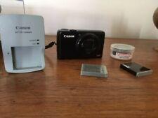 Canon PowerShot S90 10MP Digital Camera - Black Working