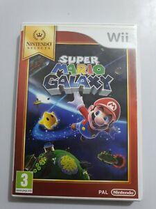SUPER MARIO GALAXY Nintendo Wii PAL España COMPLETO NINTENDO SELECTS LEER👇